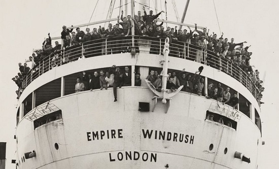 The MV Empire Windrush