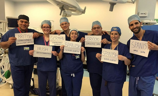 NHS staff from abroad