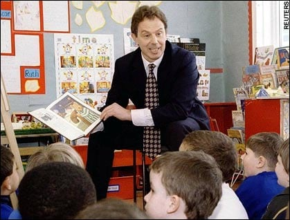 britain education tony blair