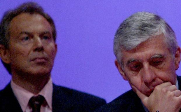 tony blair jack straw