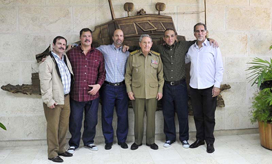 Raul Castro and The Cuban 5