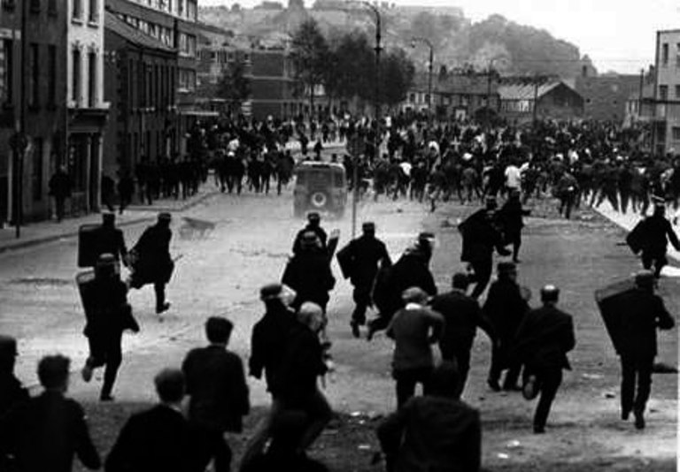 The Battle of the Bogside - 1969