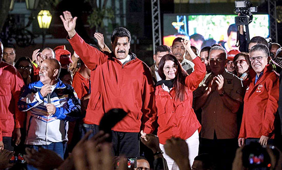 Venezuela: Imperialist pressure mounts as Maduro is re-elected