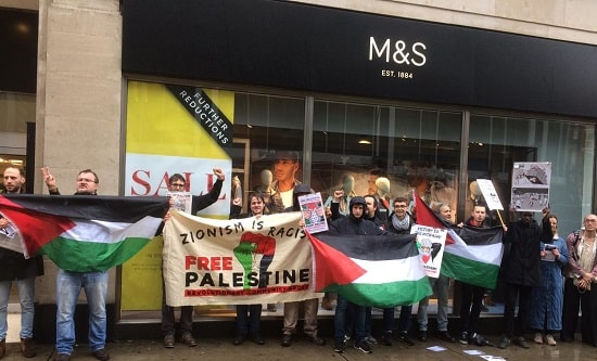 RCG picket M&S on Oxford Street