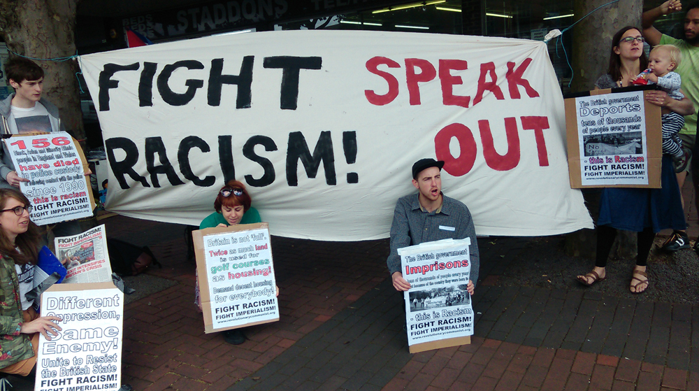 Speaking out against racism