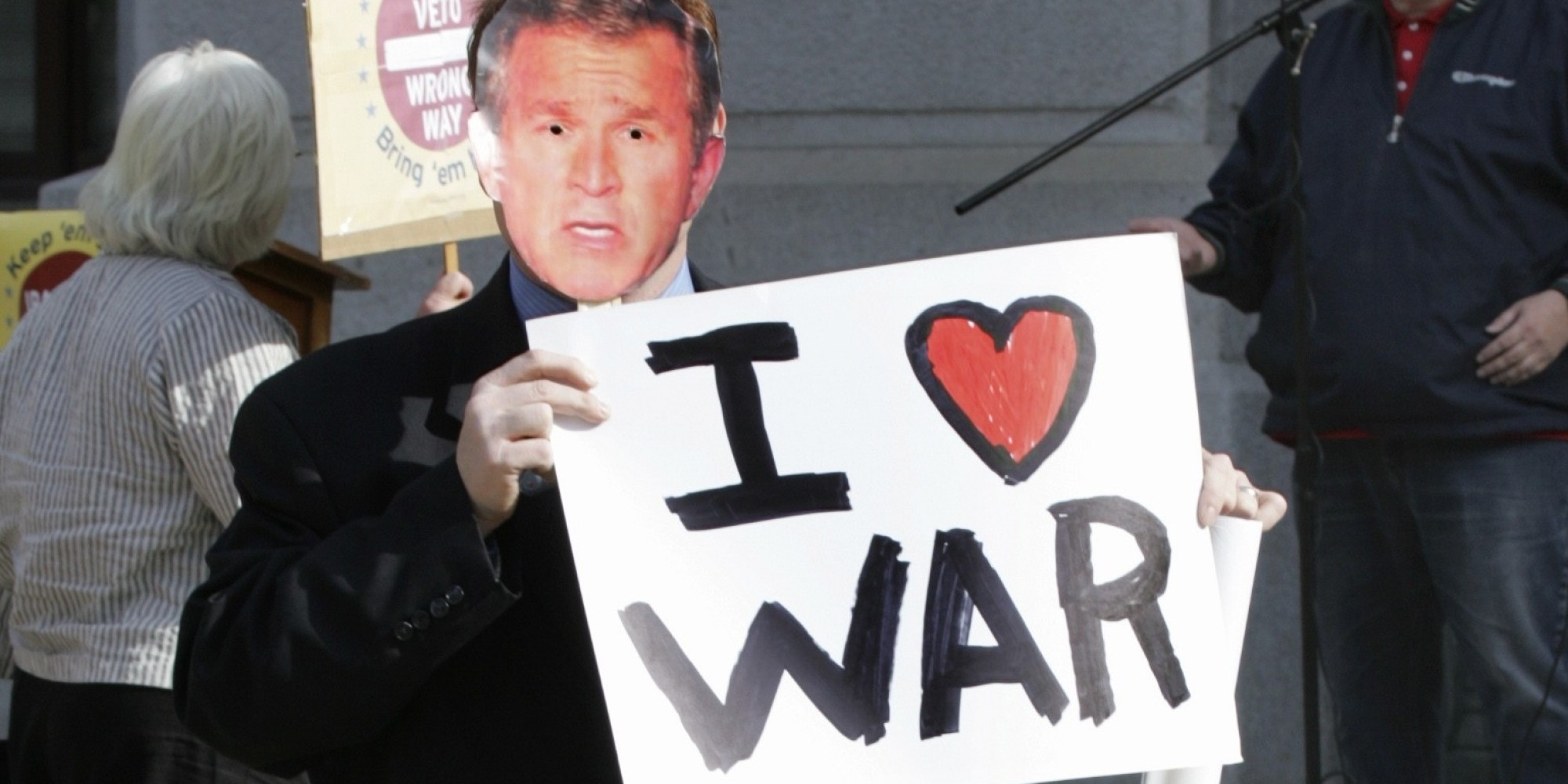 o IRAQ WAR GEORGE BUSH facebook