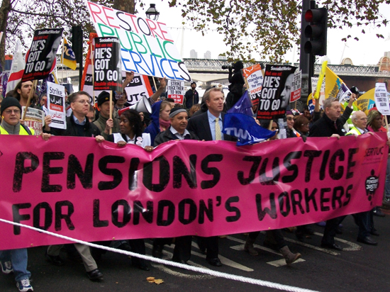 FRFI out on strike day, 30 Nov 2011