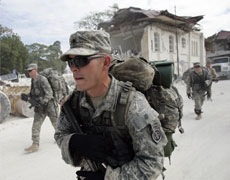 US troops in Haiti