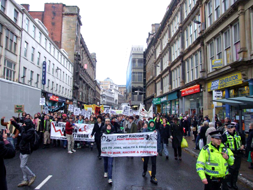 Day X3: Militant protests storm Glasgow – FRFI supporters arrested - 9 Dec 2010