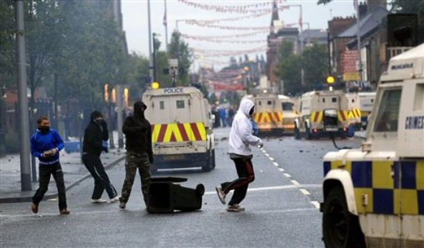 Loyalist rioters