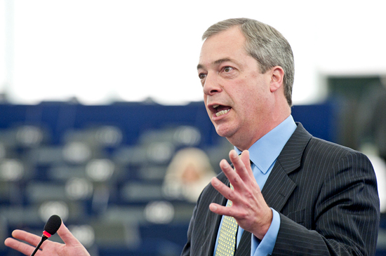 Nigel Farage. © European Union 2012 - European Parliament.